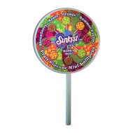 Giant Sunkist Lollipop Moneybox Filled With Lollies - Great For Gifts
