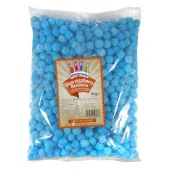 SOUR BLUE RASPBERRY BON BONS 3KG KINGSWAY