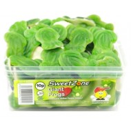 Sweetzone 100% Halal Giant Frogs 60 Pcs Tub
