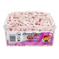 Sweet Zone Strawberry Milkshakes Halal 1p X 600 Pieces