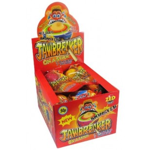 Monster Jawbreaker On A Stick