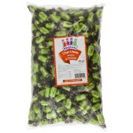 Kingsway Chocolate Limes Hard Boiled Wrapped Lime Flavour Sweets 3kg Bags