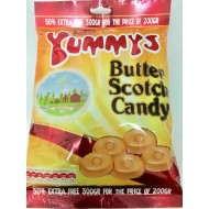 Yummys Butter Scotch Halal Candy 300gr 6 Pack