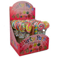 Party Pop Hand Made Lolipops 50 Pcs
