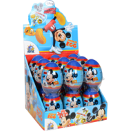 Disney Mickey Mouse Surprise Eggs Toys 18 Pcs Full Box Quick Dispatch