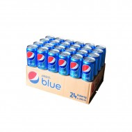 Pepsi Blue Soda 330ml Can (Case Of 24)