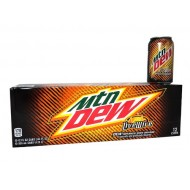 Mountain Dew Livewire American Import Soda Rare - 24 Pack (24x 355ml Cans)