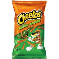 Cheetos Cheddar Jalapeno Crunchy (226g) 8oz Bags 10 Large Imported Usa