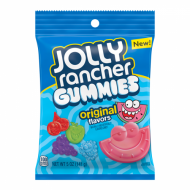 Jolly Rancher Gummies Peg Bag 5oz (142g) - Unit Count: 12