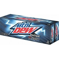 Mountain Dew Voltage - American Import Soda Rare - 24 Pack (24x 355ml Cans)
