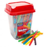 Twizzlers Licorice Chewy Candy, Rainbow Straws, Amreican 105 Count