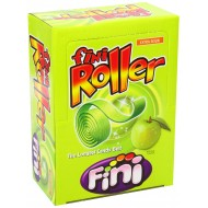 Fini Apple Roller FIZZY ROLLERS EXTRA SOUR CANDY BELTS 40 COUNT
