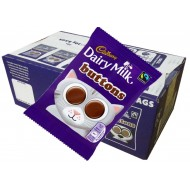 CADBURY DAIRY MILK BUTTONS STANDARD BAG 30G x 28pcs 100% Brithsh Chocolate