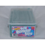 Damel Fizzy Blue Raspberry Belts Suitable For Vegetarians 200 Pieces Full Box
