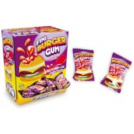 FINI BURGER GUM CHICLE SWEETS KETCHUP LIKE LIQUID FILLED Pack of 200