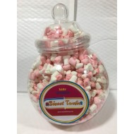 GIFT JARS VICTORIAN LARGE  FINI Mini  Marshmallows FINITRONG 1KG JAR  HALAL