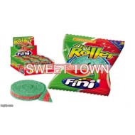FINI WATERMELON FIZZY ROLLERS EXTRA SOUR CANDY BELTS 40 COUNT