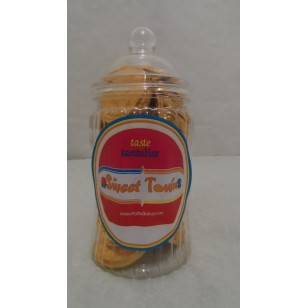 Gift Jars Of Retro Sweets - Victorian Spiral Jars Of Gold Coins
