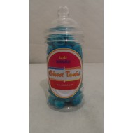 Gift Jars Of Retro Sweets - Victorian Jars Blue Raspberry Bonbons