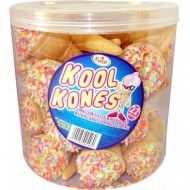 Kool Kones Marshmallow Ice Cream Cones Kids Favourite Tub 22