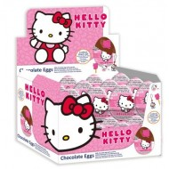 Hello Kitty MILK Chocolate Egg WITH SURPRISE Egg 20 g (Pack of 12)