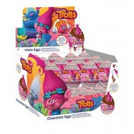 Trolls MILK Chocolate Egg WITH SURPRISE Egg 20 g (Pack of 12)