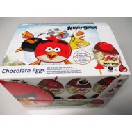 ANGRY BIRDS Milk CHOCOLATE EGG WITH TOY 20 Grams (Pack of 12 )