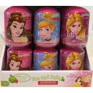 Disney Princess Character Action Roller - FRUIT SNACK, STICKER, TOY 18 Birthday Party Bag Filler Children Snacks