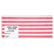 Candy stripe paper bags 100 pack