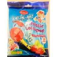 Lick It Whistle Lollipop Strawberry Flavour Halal 5 Pack