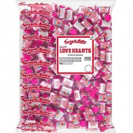 Swizzels Matlow Love Hearts Mini Roll Sweets, 3kg Suitable For Vegetarians