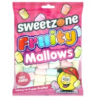 Sweetzone Halal Fruity Mallows Fat Free 165gr 12 Pack
