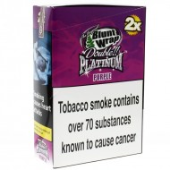 Blunt Wrap Double Platinum Purple 25 x 2 Packs