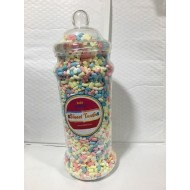 GIFT JARS VICTORIAN LOGN  LARGE MARSHMALLOWS MICRO 1KG JAR SWEETZONE 100% HALAL