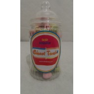 Gift Jars Of Retro Sweets - Victorian Spiral Jars Milk Chocolate Easter Mini Eggs