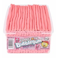 Sweetzone Halal Bubblegum Pencils 100 In Tub Hmc