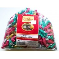 Stockleys SUGAR FREE Assorted Toffees Sweets - 1 x 2kg
