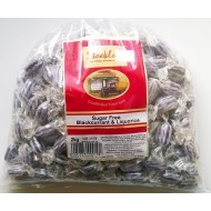 Stockleys SUGAR FREE Blackcurrant & Liquorice Sweets - 1 x 2kg