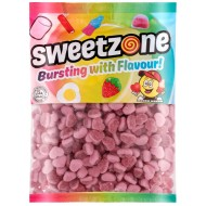 Sweetzone 100% Halal Jelly Sweets Strawberry Hearts Hmc 1kg Bags