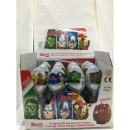 Zaini Marvel Avengers Milk Chocolate Egg Collection inside 12 EGG