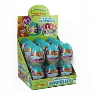 Moshi Monsters Sweets And Surprise Egg 10 G (Pack Of 18