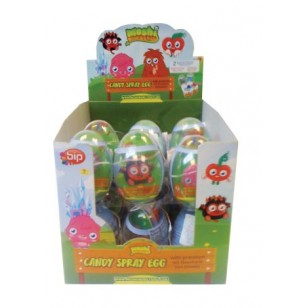 Moshi Monsters Candy Spray Egg 24 Piece Box
