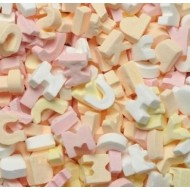 KINGSWAY ABC LETTERS Candy Sweets 500g Retro,Party Bag Sweet  FREE POSTAGE