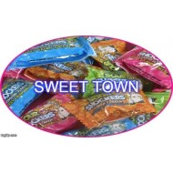 SOUR SHOCKERS SOUR CANDY WITH BUBBLEGUM CENTRE 50 PACKETS FREE POSTAGE