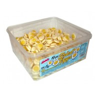 Alma MINI Fried Eggs FRUIT FLAVOUR JELLY SWEETS HALAL TUB 600 PCS