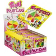 Trolli fruit cake crispy base (23g) x 24