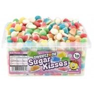 Sweetzone Sugar Kissies Assorted Colour And Flavours Hmc Halal Tubs (600 Pieces)