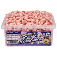 Sweetzone Magic Mushrooms (Pink&white) Hmc Halal (600 Pieces)