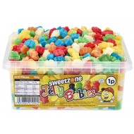 Sweetzone Jelly Babies Sweets Assorted Flavours Hmc Tubs Halal 600 Pieces