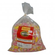 Stockleys Rhubarb and Custard Twists Sweets Bag 3kg (1 Bag)